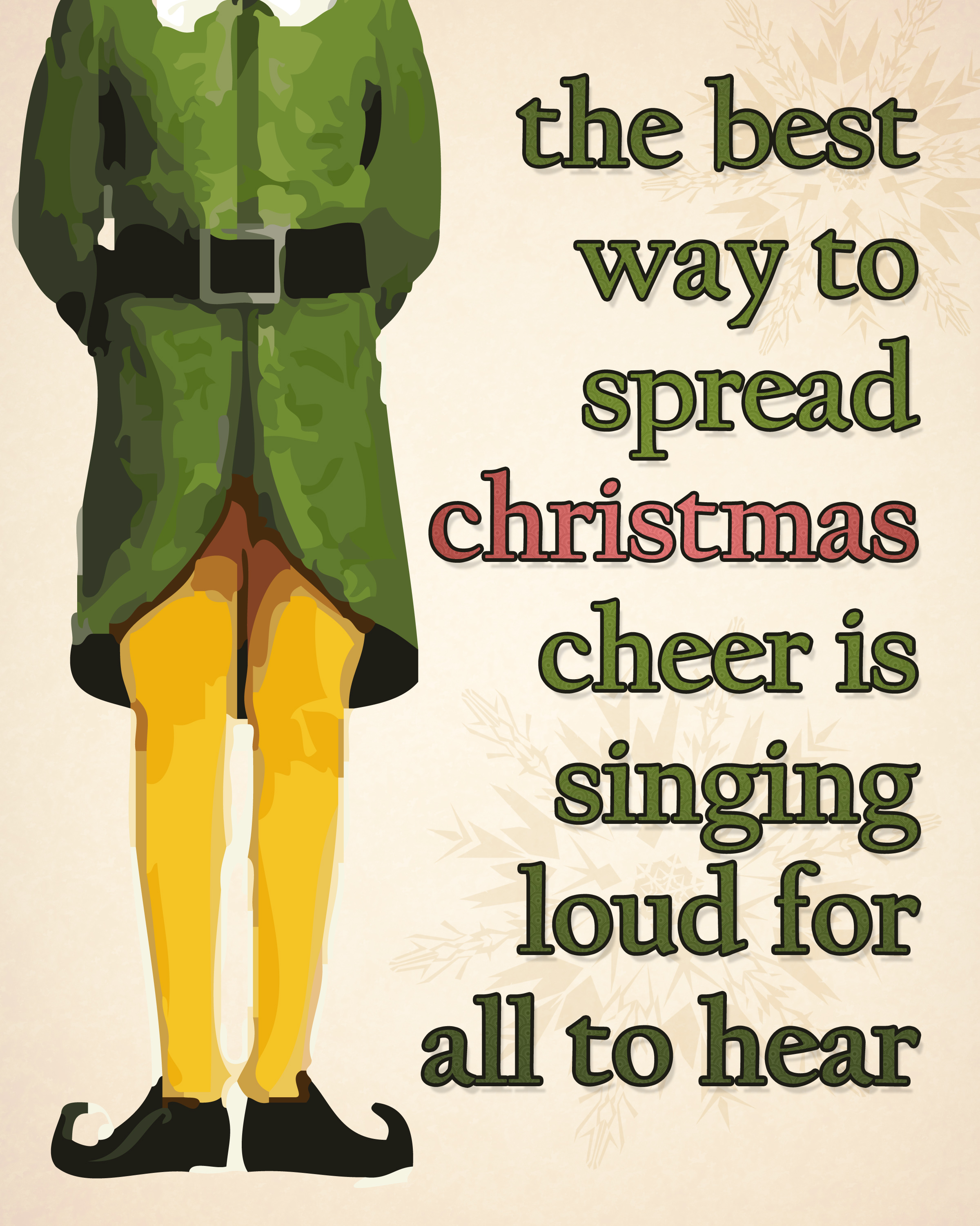 Elf Quotes Beauteous 7 Life Lessons From Elf You Can Actually Use  Glamour